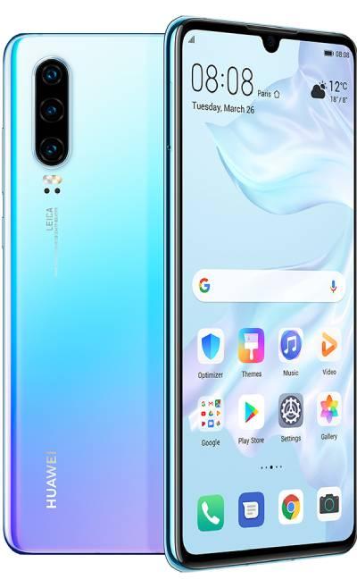 تصميم Huawei P30 هواوي بي 30