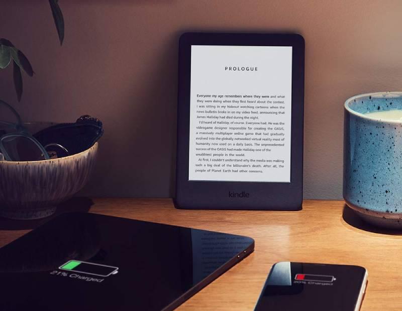 يحتاج Kindle 2019 للشحن كل عدة أسابيع