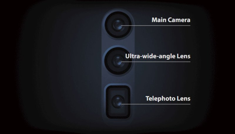 يحاكي نظام التكبير البصري Oppo 10x من شركة اوبو طريقة عمل المنظار أو البريسكوب