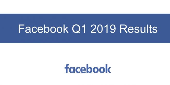 Facebook تعلن عن نتائجها المالية في الربع الأول من عام 2019
