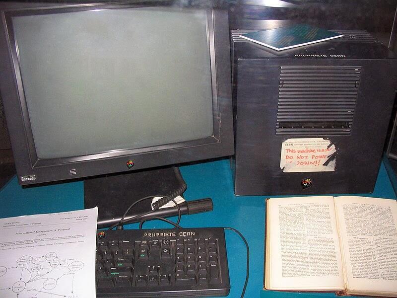 أول ويب سيرفر تم استخدامه من قبل تيم بيرنرز لي