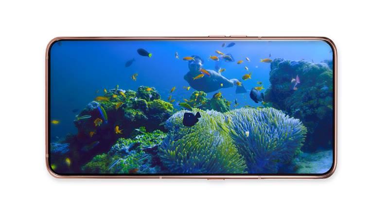 يحمل Galaxy A80 تصميما بشاشة كاملة وكاميرا دوارة