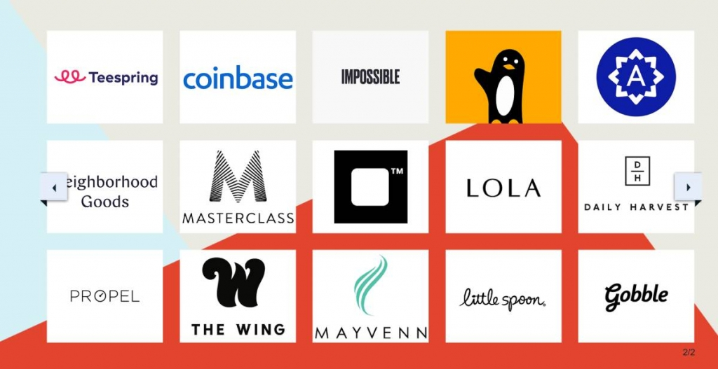 الشركات التي استثمرت بها سيرينا فينتشرز  Serena Ventures