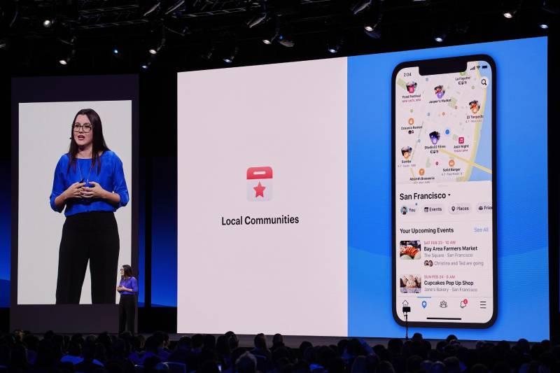 يركز تصميم فيس بوك الجديد على المجموعات