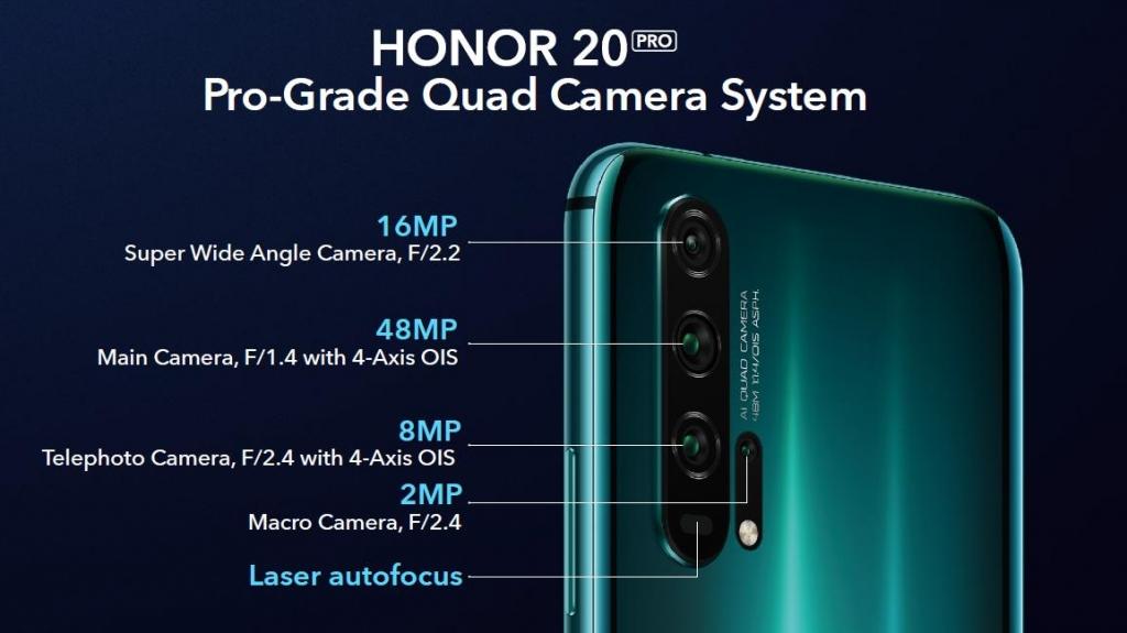 الكاميرا في هونر 20 برو honor 20 pro camera