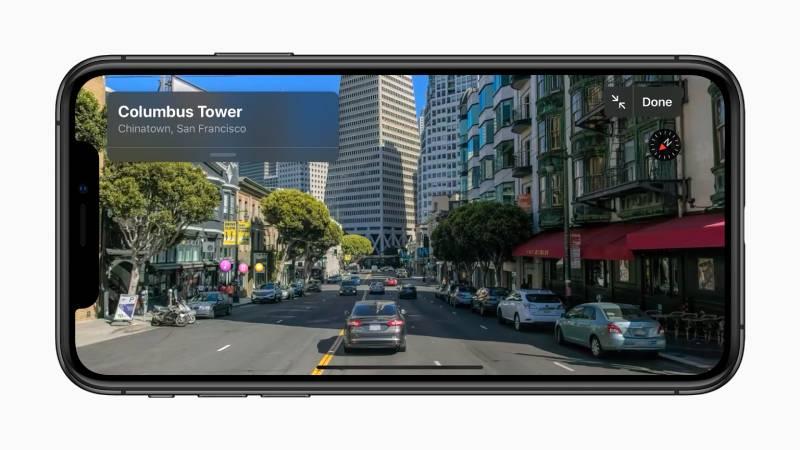 تجربة جديدة كليا لتطبيق الخرائط في iOS 13