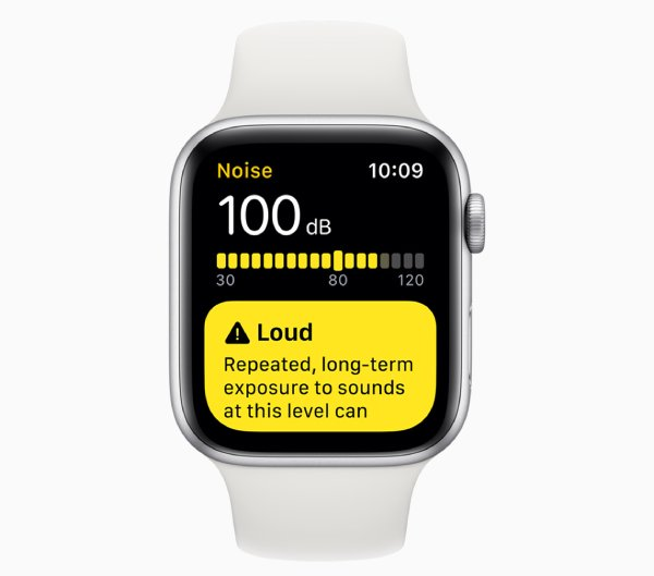 watchOS 6 تطبيق جديد للحفاظ على صحة السمع