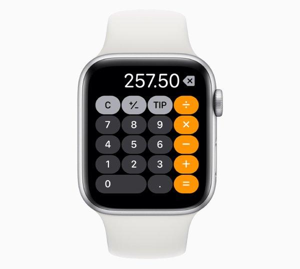 تطبيق التذكيرات الصوتية والحاسبة WatchOS 6
