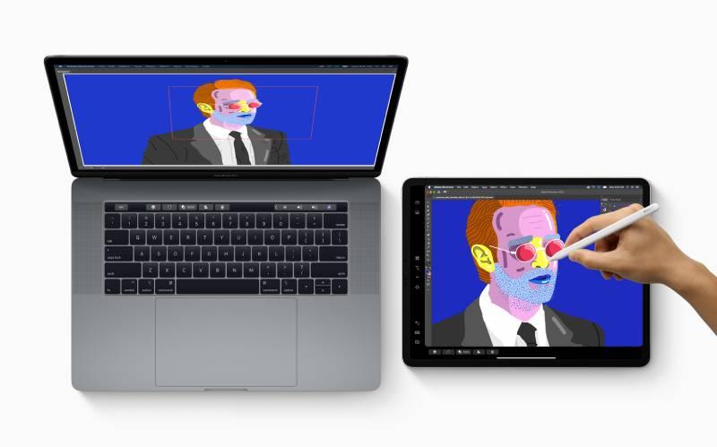 استخدام شاشة آيباد كشاشة إضافية لأجهزة ماك
