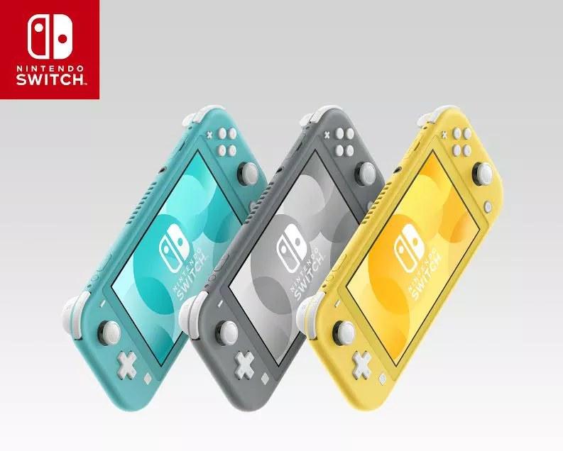 الوان نينتيندو سويتش لايت  Nintendo Switch Lite