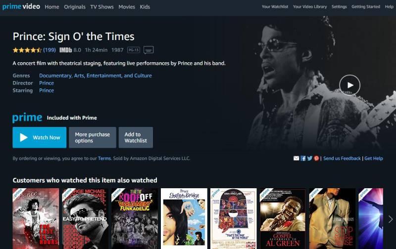 مشاهدة الآف الأفلام والمسلسلات من خلال amazon prime video