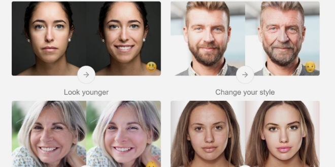 FaceApp: تطبيق لمشاهدة صورتك وصور المشاهير أكبر سنا