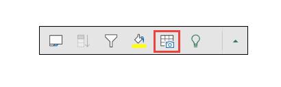 ميزة إدراج البيانات من صورة في إكسل