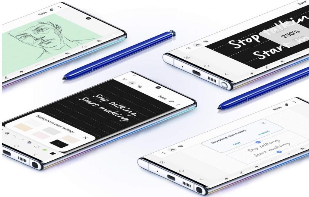 مميزات القلم الرقمي المرفق مع جالاكسي نوت 10 بلس Galaxy Note10 Plus