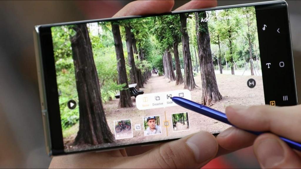 مميزات تحرير الفيديو في جالاكسي نوت 10 بلس Galaxy Note10 Plus
