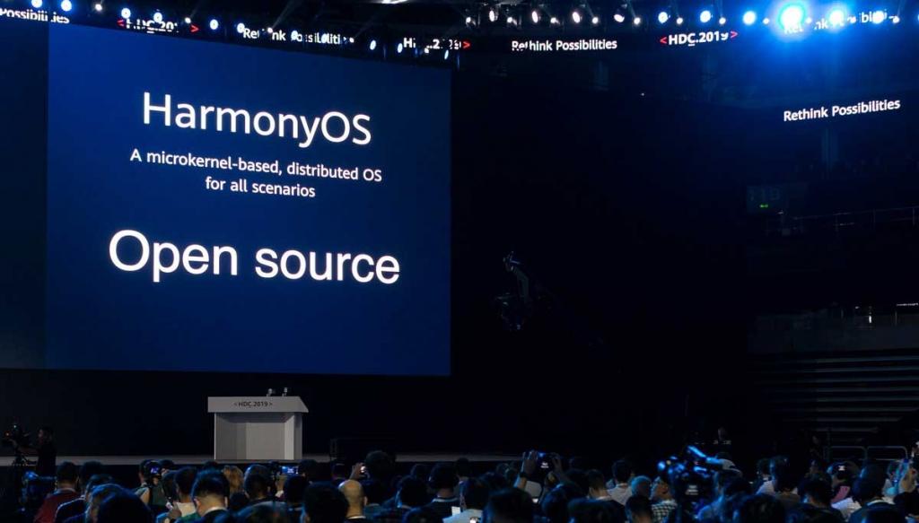 متى يتوفر نظام التشغيل هارموني HarmonyOS