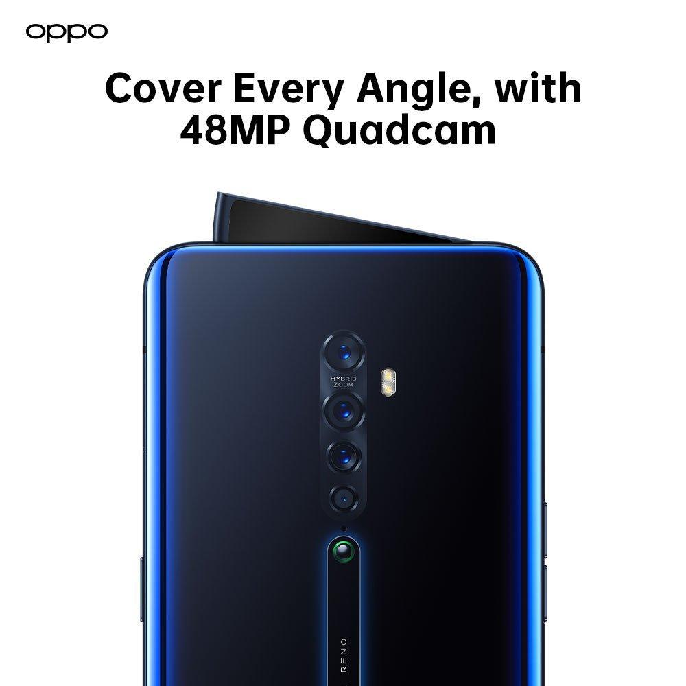 زودت اوبو هاتفها الذكي الجديد Oppo Reno 2 بأربعة كاميرات خلفية