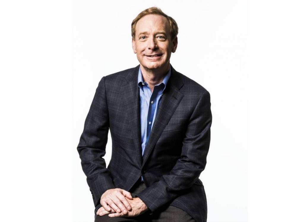 براد سميث رئيس مايكروسوفت