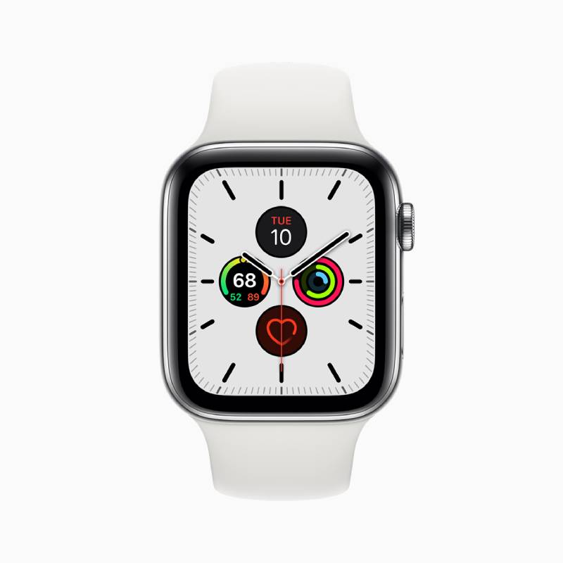 مميزات Apple Watch Series 5: شاشة جديدة