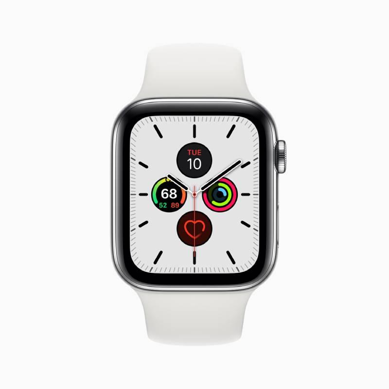 مميزات Apple Watch Series 5: شاشة جديدة