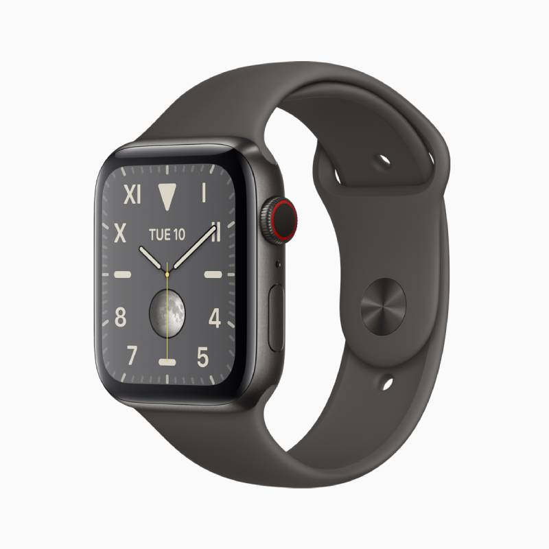 Apple Watch Series 5 ابل ووتش سيرس 5 بتصميم من التيتانيوم