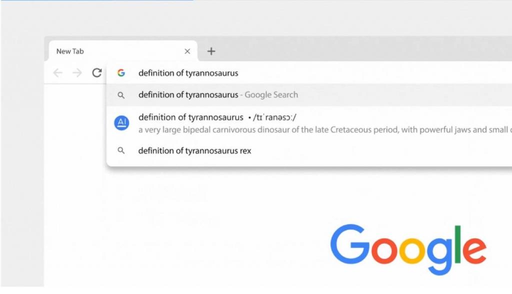 الحصول على نتائج أو إجابات مباشرة دون الحاجة لزيارة بحث جوجل