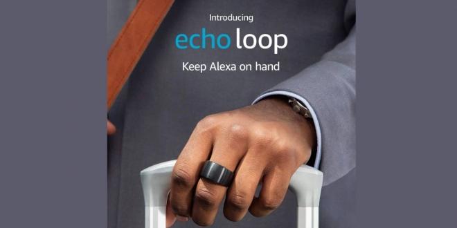 Echo Loop: خاتم ذكي من أمازون مزود بمساعد الكسا الصوتي