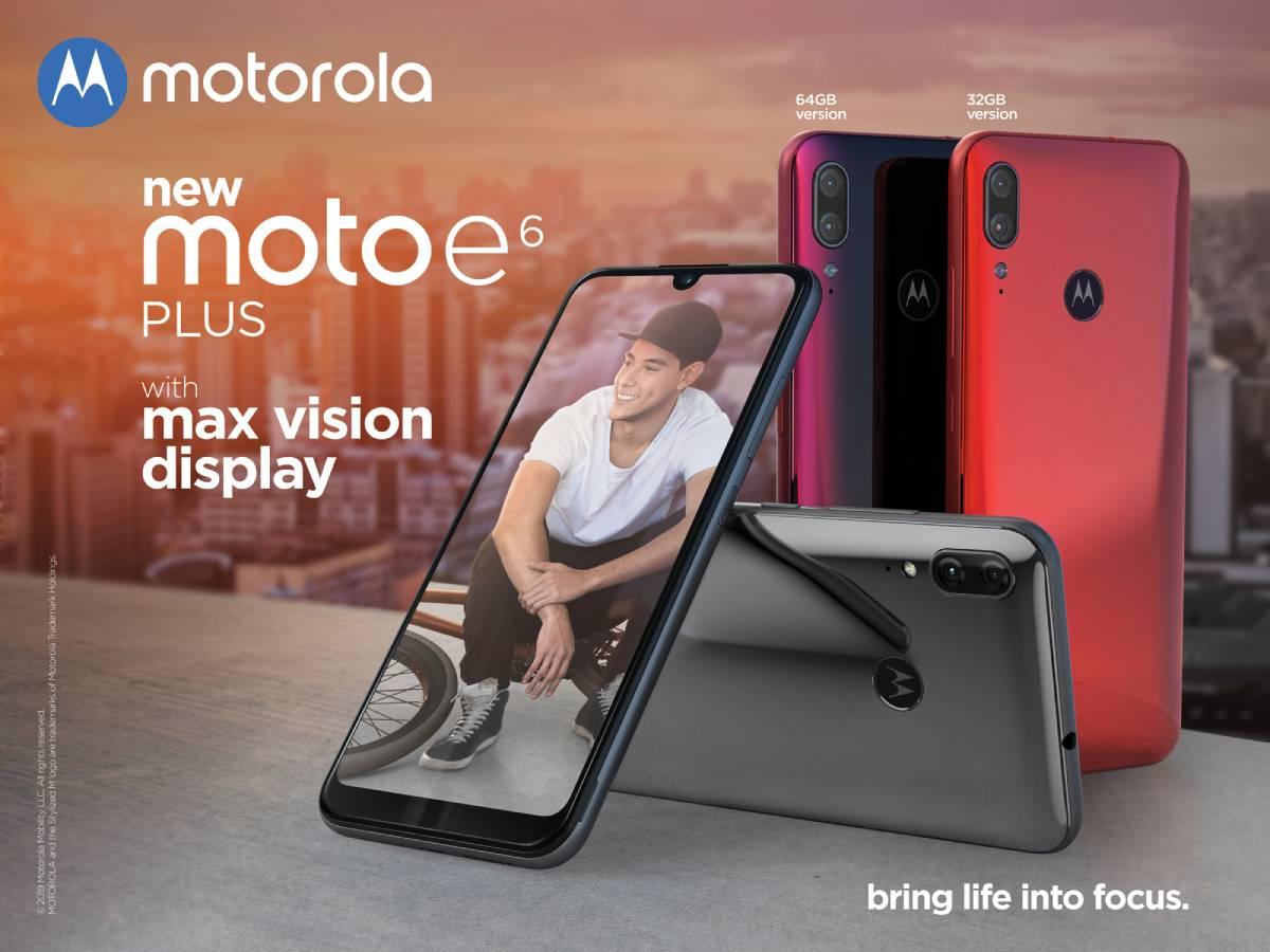 Moto E6 Plus موتو إي 6 بلس: المواصفات والمميزات والسعر