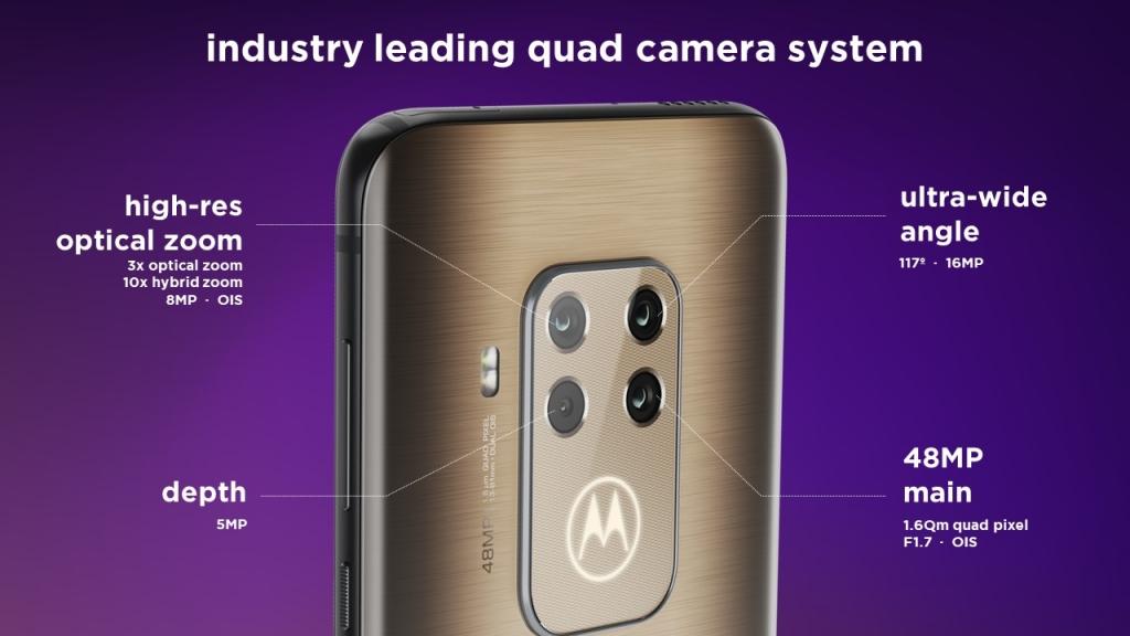 motorola one zoom يحمل أربعة كاميرات خلفية