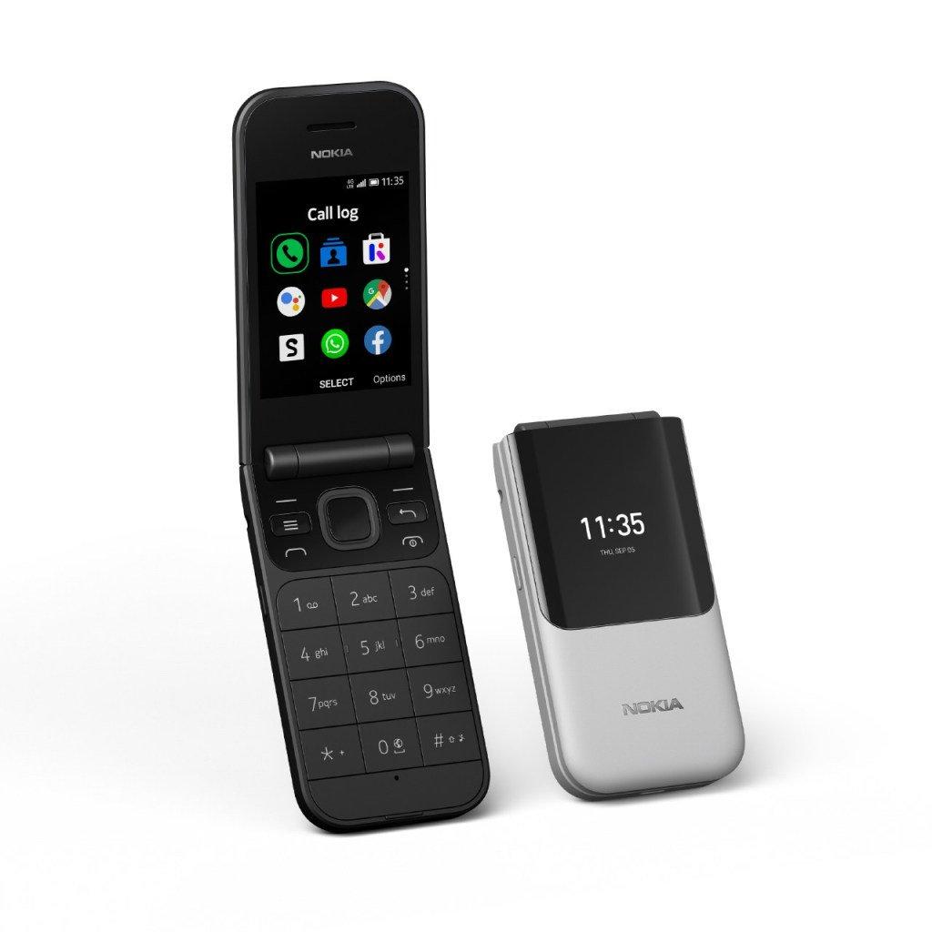 يأتي Nokia 2720 Flip بتصميم قابل للطي مع لوحة مفاتيح