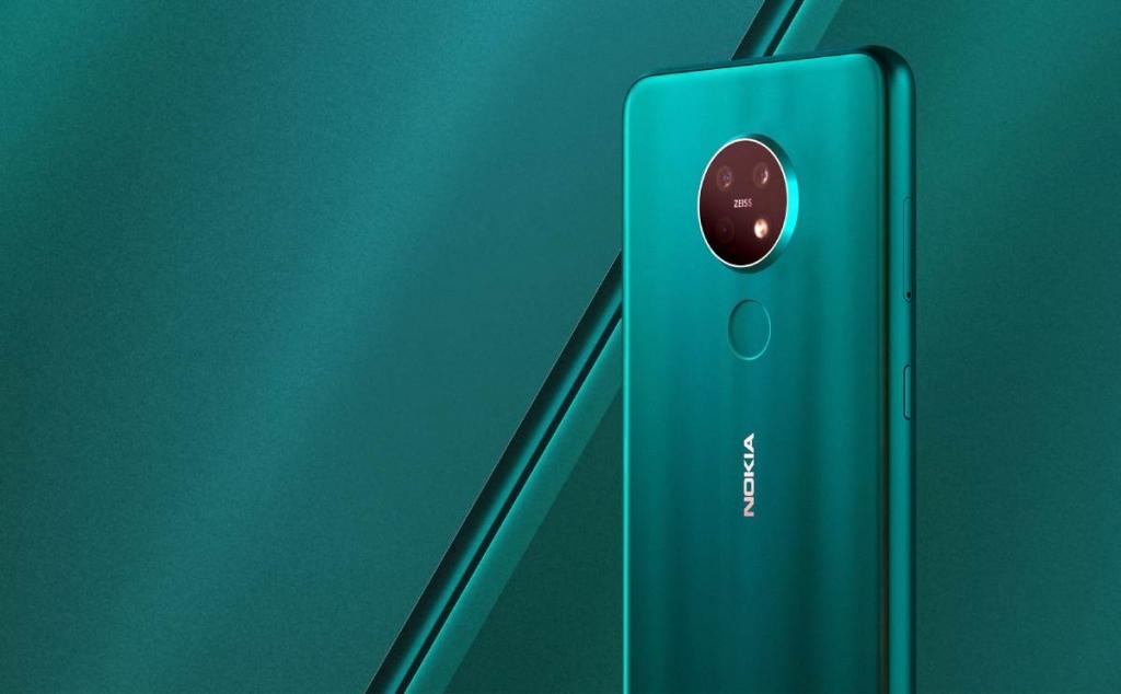 Nokia 7.2 مزود بثلاثة كاميرات خلفية