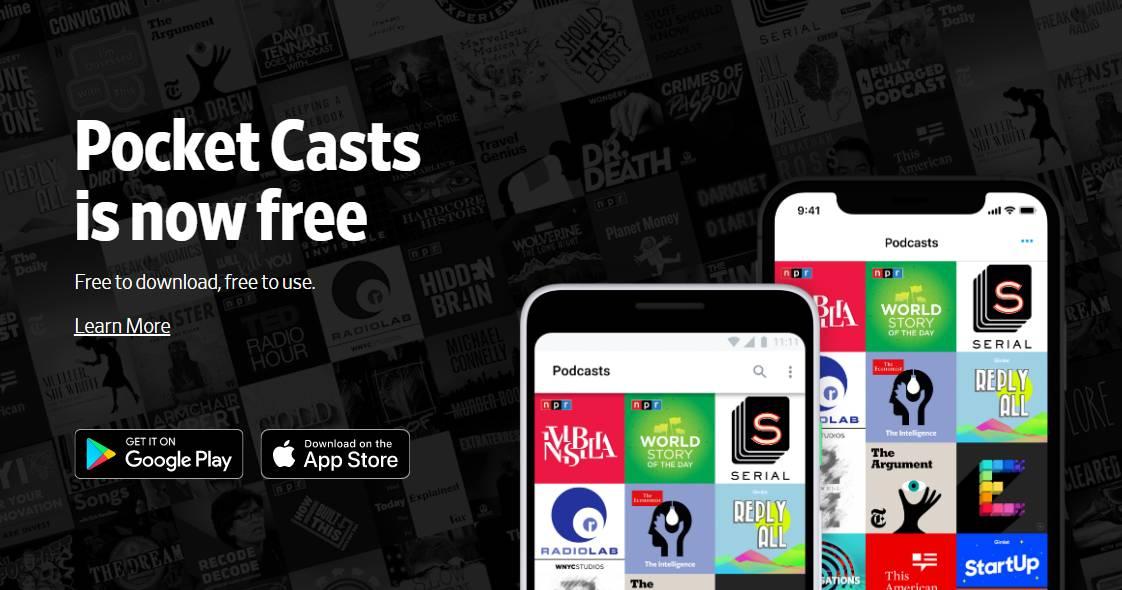 Pocket Casts: تطبيق البودكاست الشهير متوفر الآن مجانا لآيفون وأندرويد
