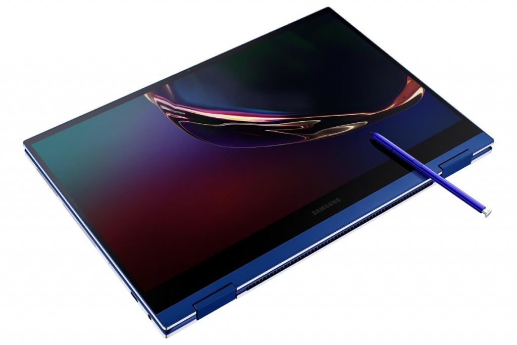 Galaxy Book Flex هو أول لابتوب بشاشة qled