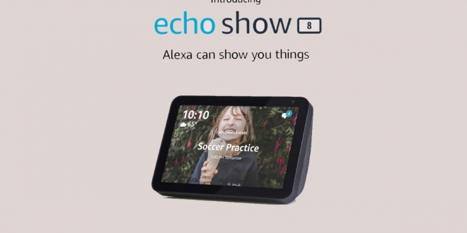 Echo Show 8: مميزات وسعر شاشة أمازون الذكية الجديدة