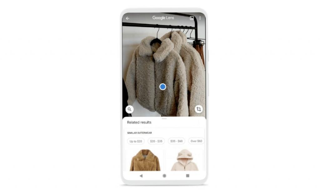 جوجل Lens تساعد المستخدم في شراء ملابس جديدة تناسب ذوقه