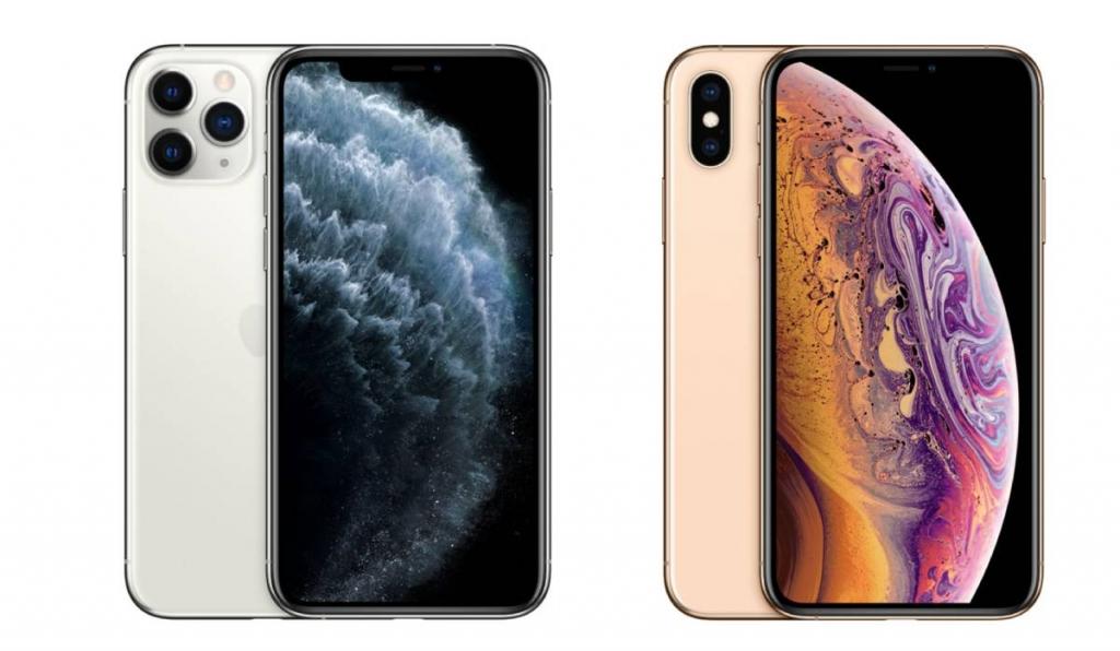 مقارنة بين ايفون 11 برو وايفون Xs