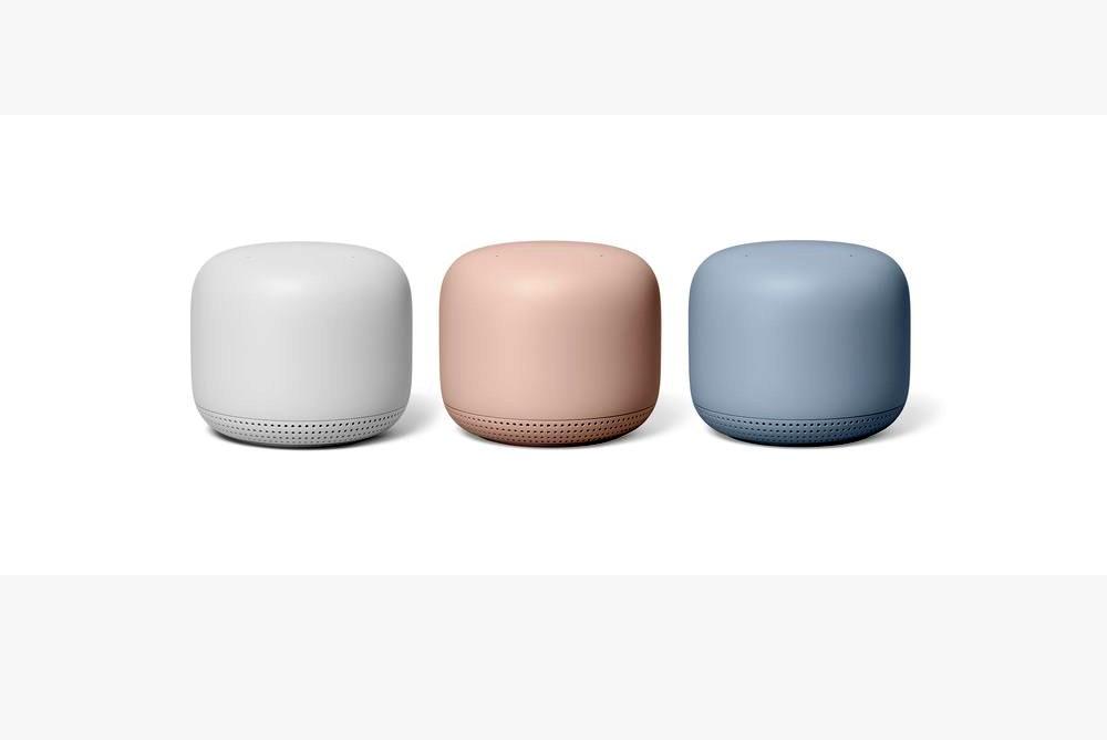 يتوفر رواتر جوجل الجديد nest wifi بثلاثة ألوان متنوعة