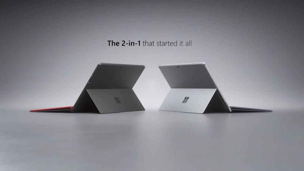 يحمل Surface pro 7 نفس تصميم سيرفس برو 6