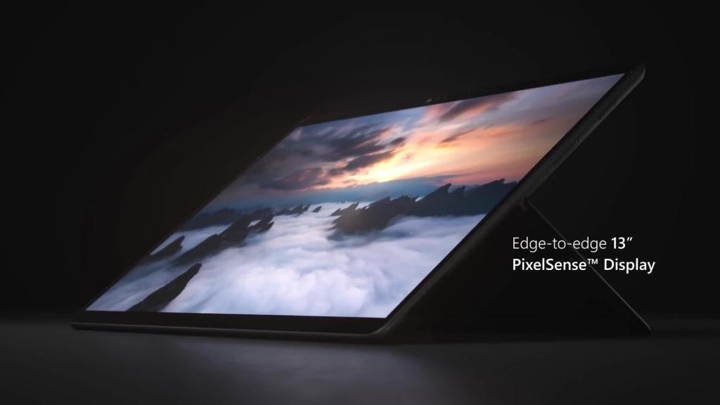 شاشة Surface Pro X