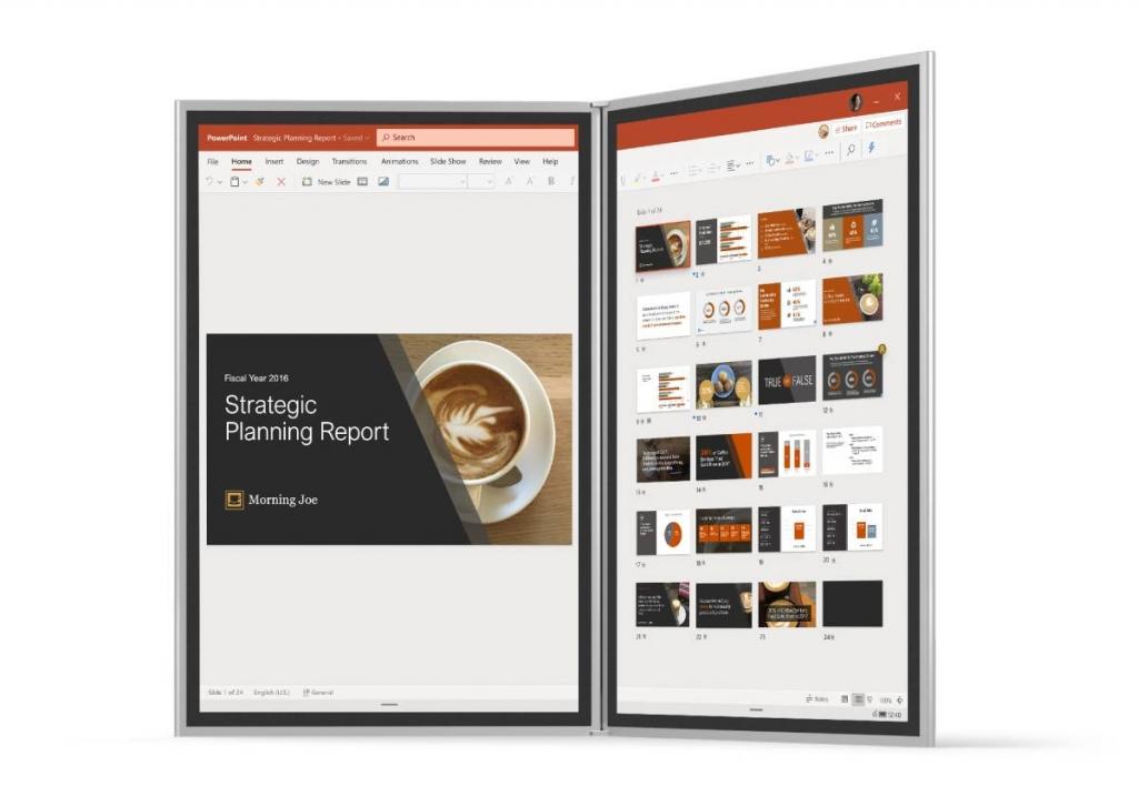ويندوز 10x هو إصدار خاص للأجهزة بشاشتين