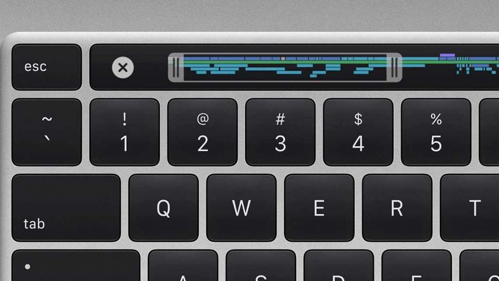 لوحة مفاتيح جديدة أفضل MacBook Pro الجديد