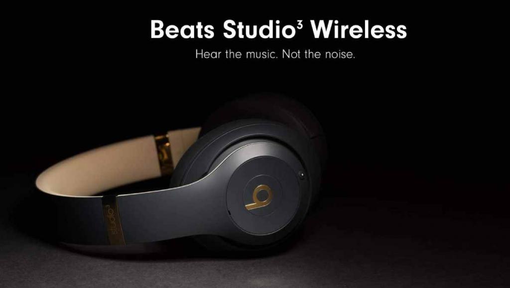 Beats Studio3 أفضل سماعات الرأس اللاسلكية