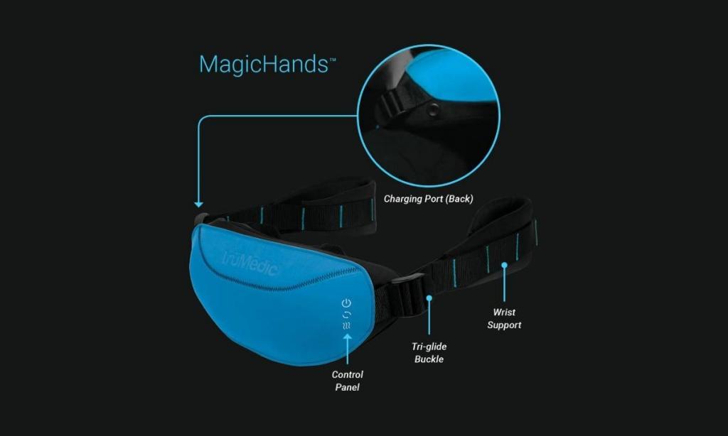 جهاز تدليك الرقبة والظهر Magic Hands