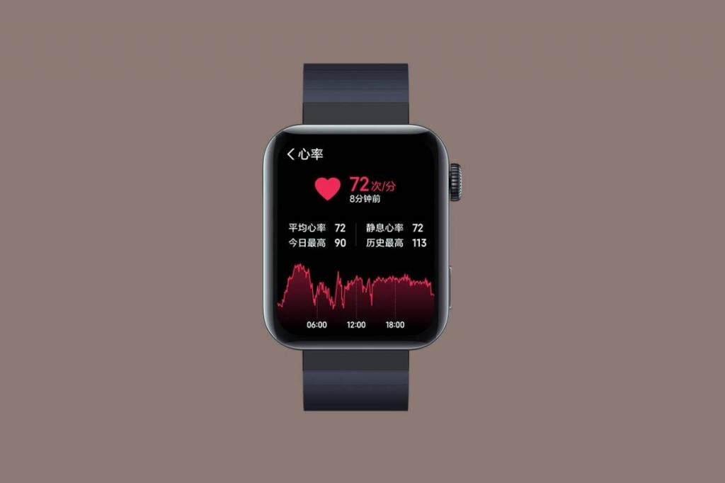 توفر ساعة Xiaomi Mi Watch العديد من المميزات لمساعدة المستخدم في تتبع عوامل الصحة