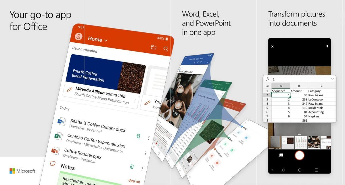 مايكروسوفت تعلن عن تطبيق أوفيس Office جديد لهواتف ايفون واندرويد
