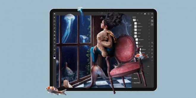 Photoshop for iPad: فوتوشوب لايباد متوفر الآن للتحميل مجانا