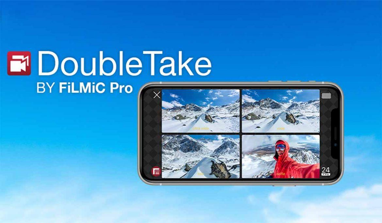 تطبيق ايفون لتصوير الفيديو بالكاميرا الخلفية والأمامية معا