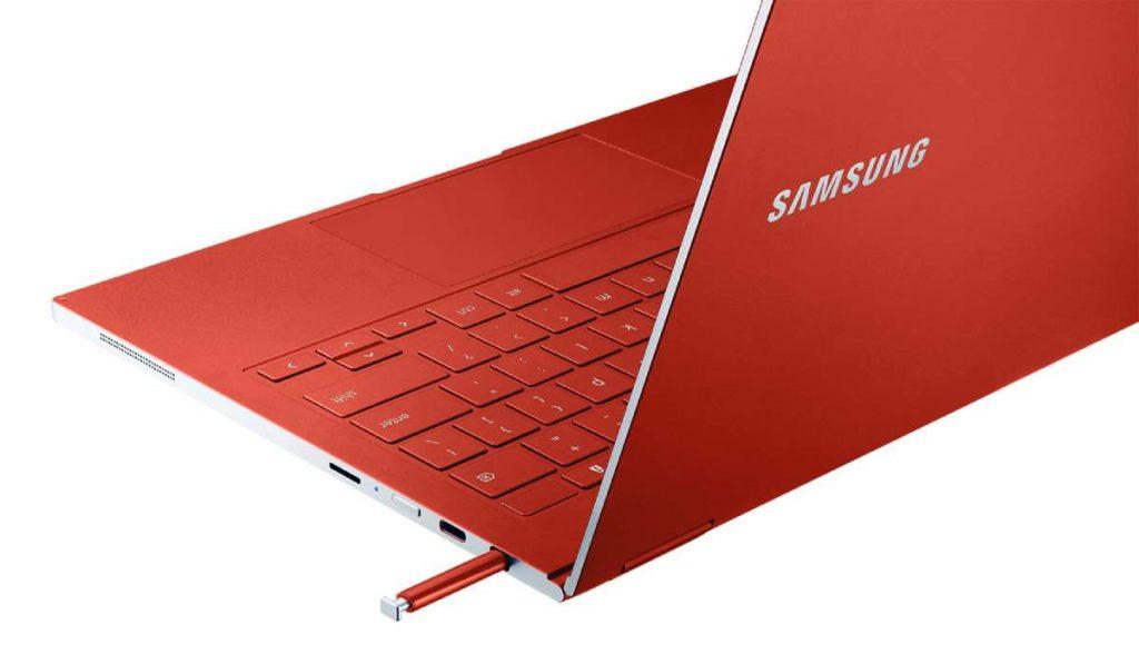 يدعم  Galaxy Chromebook القلم الرقمي
