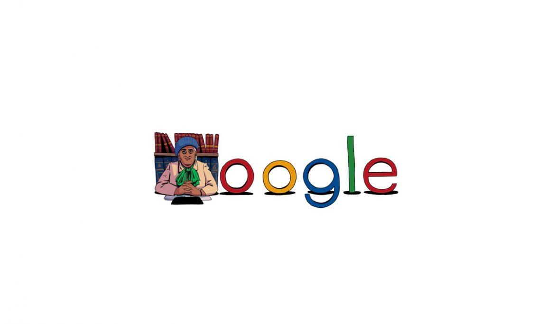 جوجل تحتفل بالذكرى 106 لميلاد مفيدة عبد الرحمن