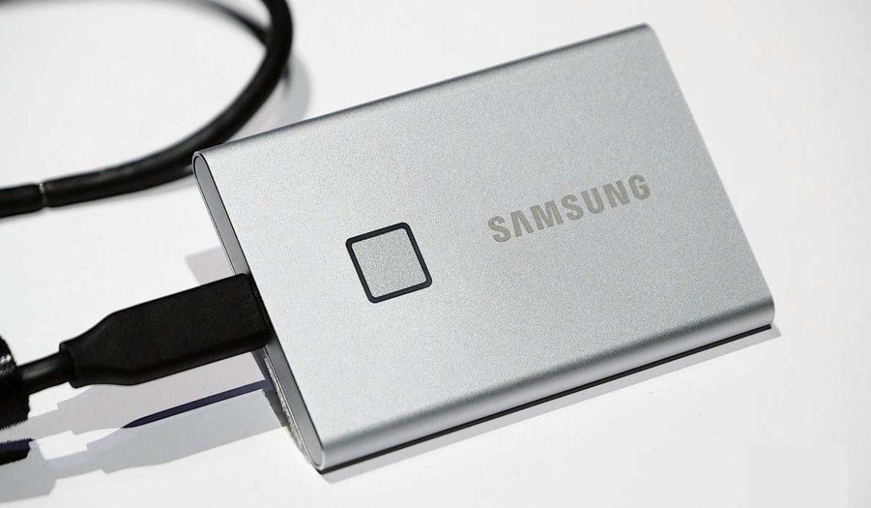 قرص التخزين T7 Touch SSD